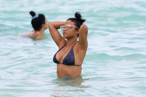 Photos : Christina Milian : la bombe pulpeuse s'affiche à Miami