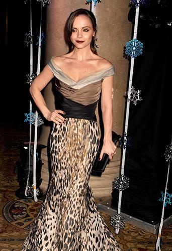 Christina Ricci à New-York le 3 décembre 2013