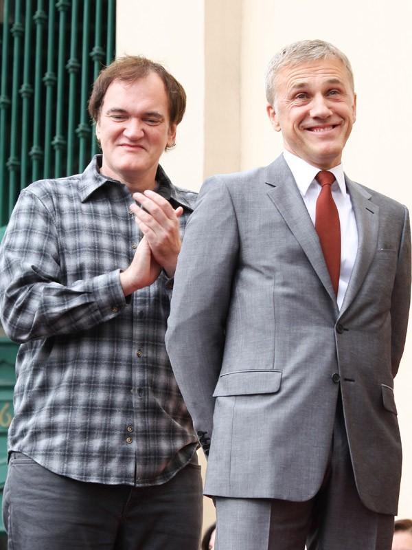 Christoph Waltz avec Quentin Tarantino