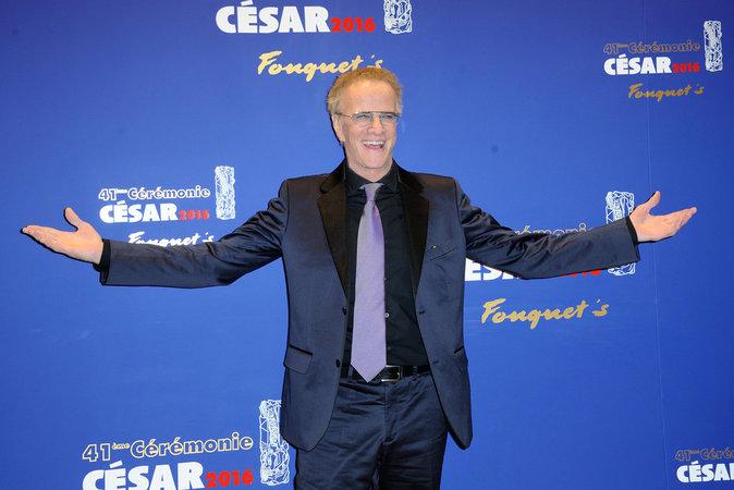 Photos : Christophe Lambert très excité d'être aux César, la bosse qui fait le buzz !