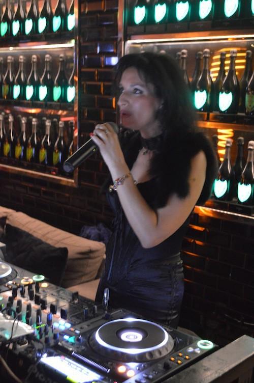 La chanteuse Rebecca