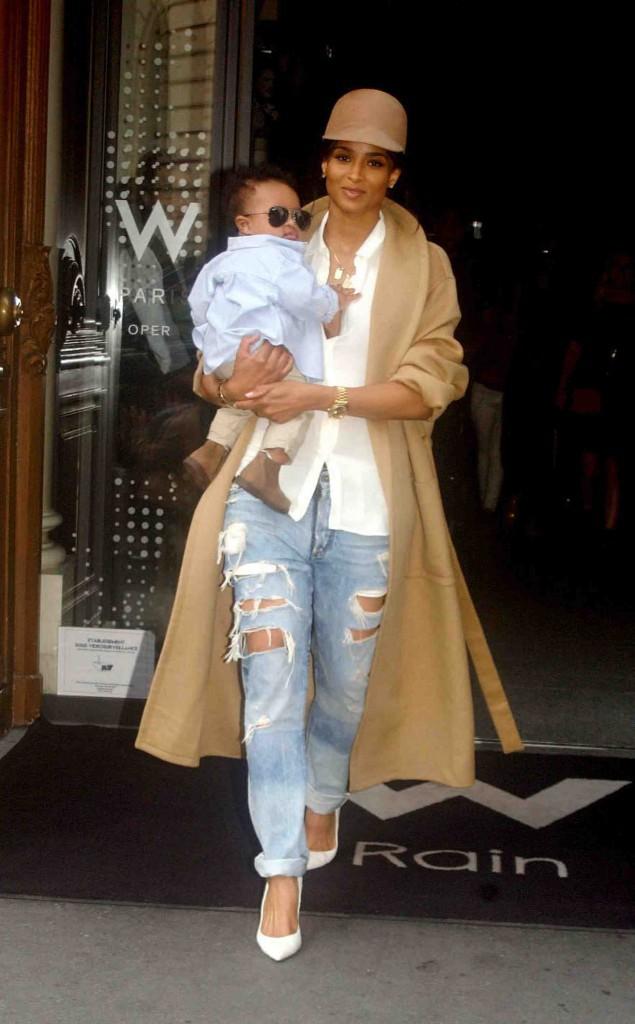 Ciara : mère et fils très stylés pour la Fashion Week de Paris !