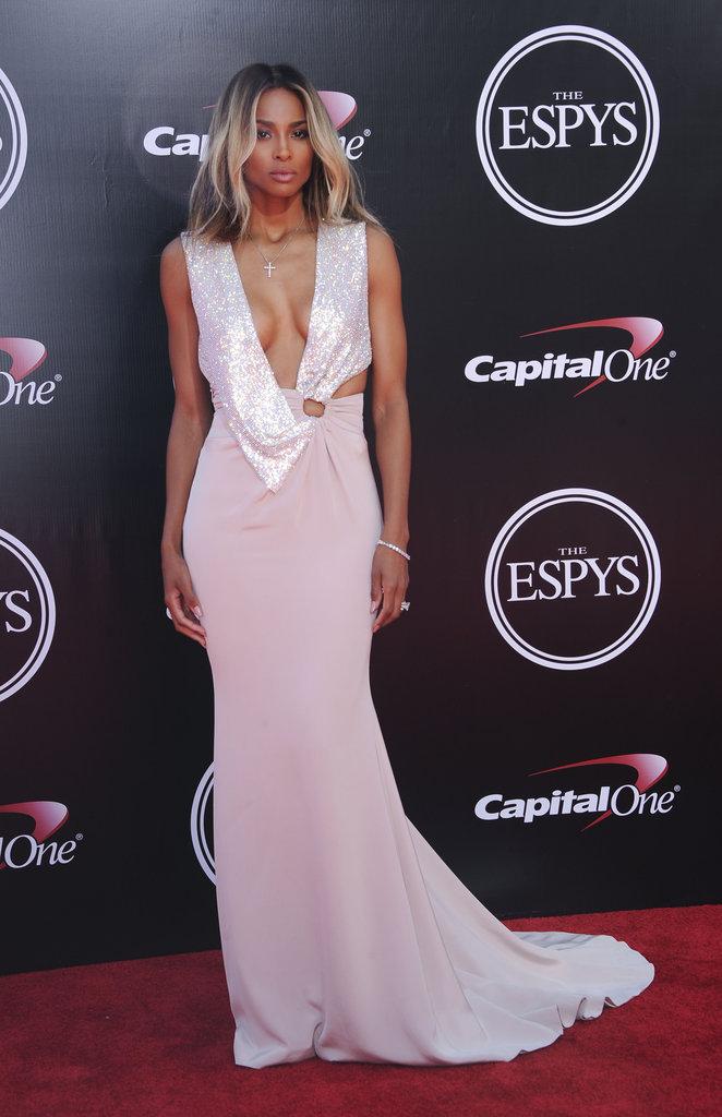 Ciara à Los Angeles le 13 juillet 2016