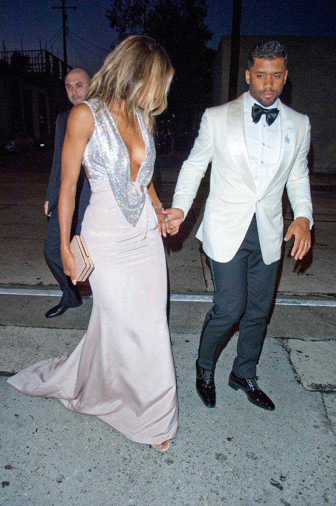 Ciara et Russell Wilson le 13 juillet 2016