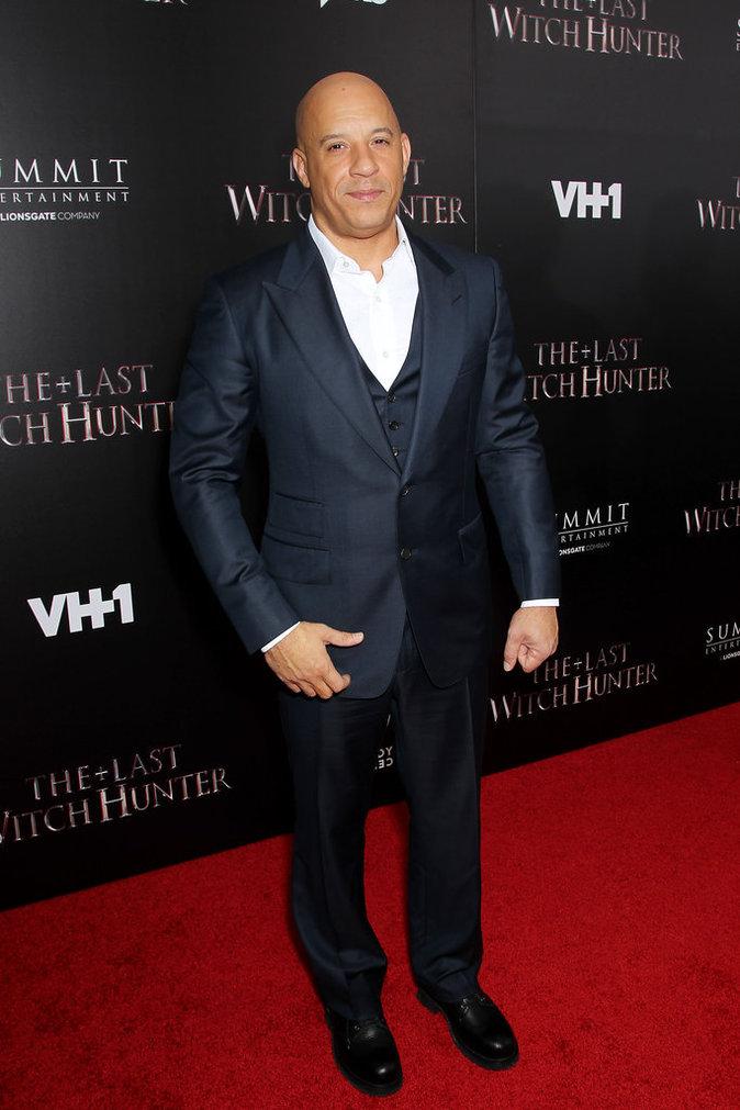 Vin Diesel le 13 octobre 2015