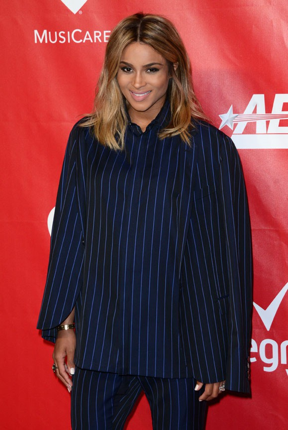 Ciara au gala MusiCares Person of the year organisé à Los Angeles le 24 janvier 2014