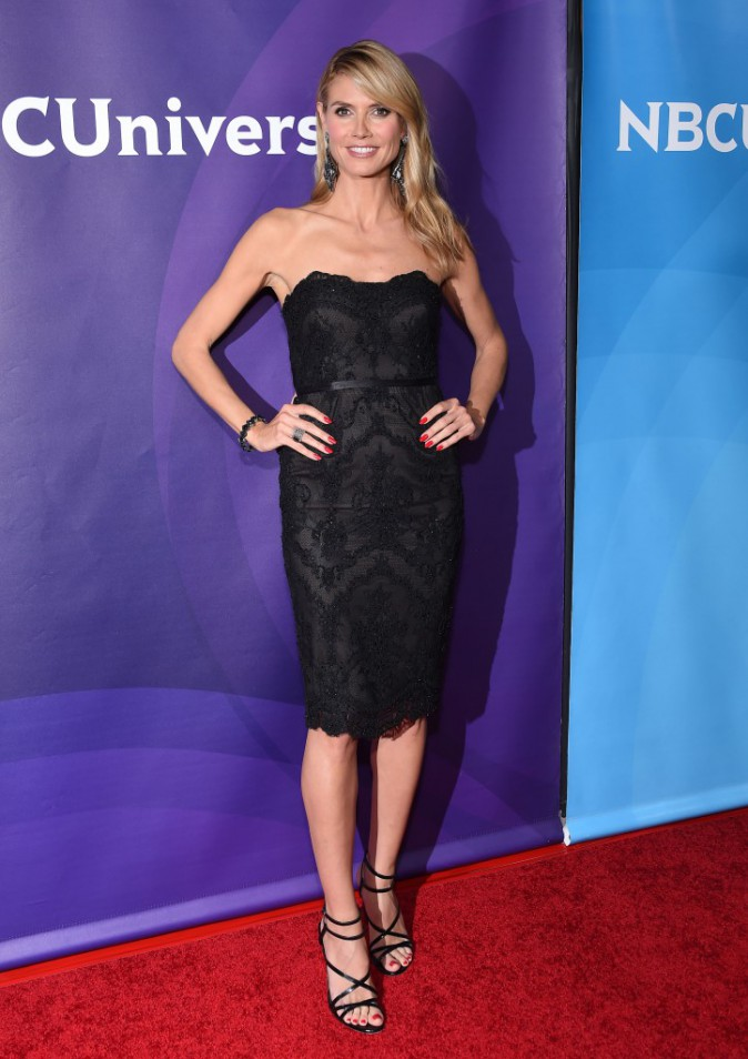 Heidi Klum le 2 avril 2015