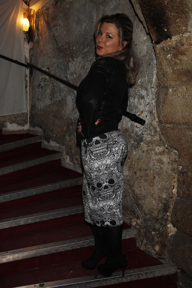 Cindy Lopes au Théâtre des Blancs Manteaux de Paris le 10 décembre 2012