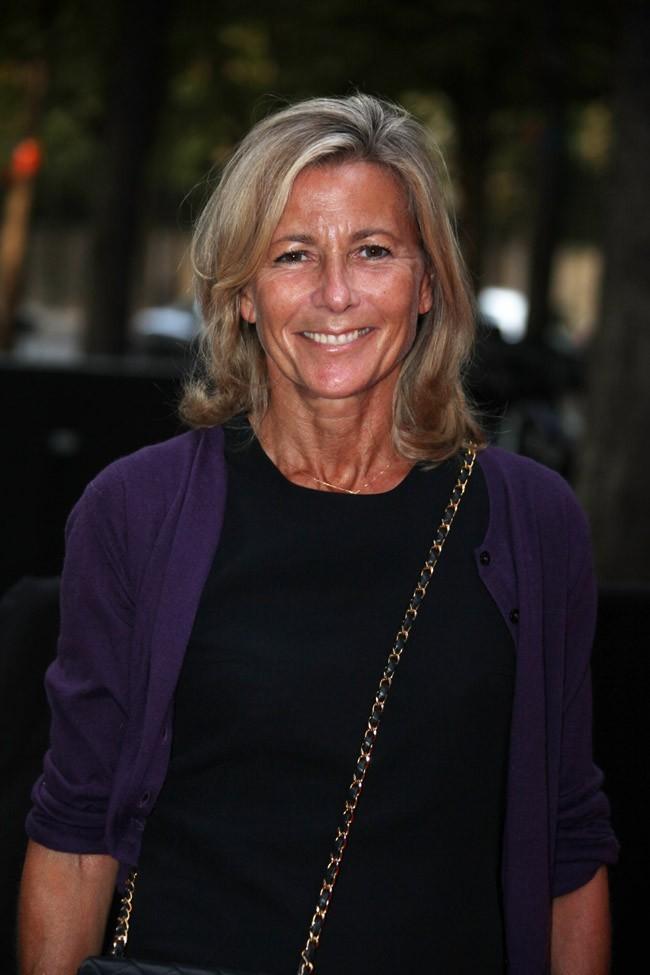 Claire Chazal le 28 août 2012 à Paris