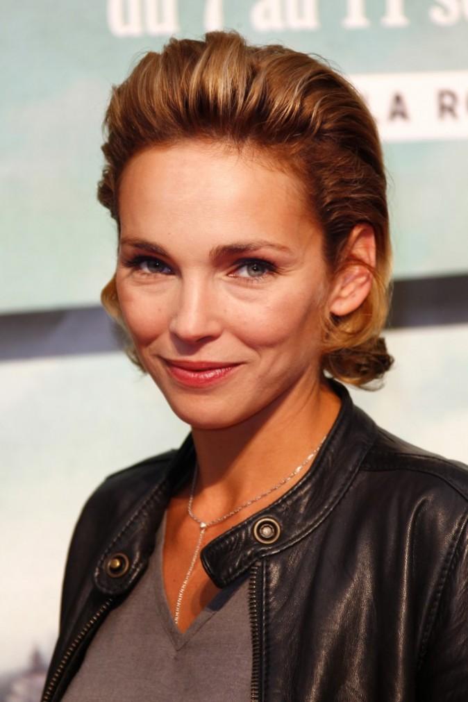 Claire Keim lors du 13e Festival de la Fiction Télé de La Rochelle, le 7 septembre 2011.
