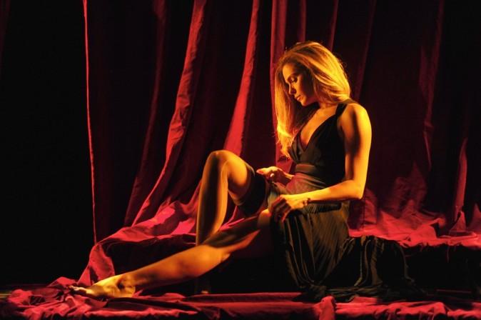 Clara Morgane au Théâtre de la Pépinière à Paris le 16 octobre 2012