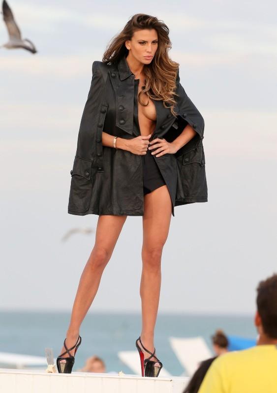 Claudia Galanti le 29 décembre 2012 à Miami