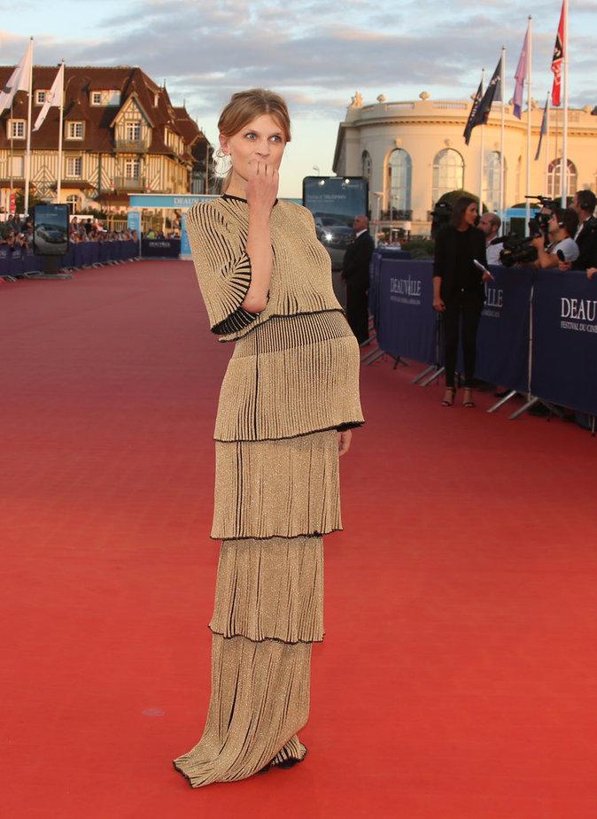 Clémence Poésy au Festival de Deauville le 9 septembre