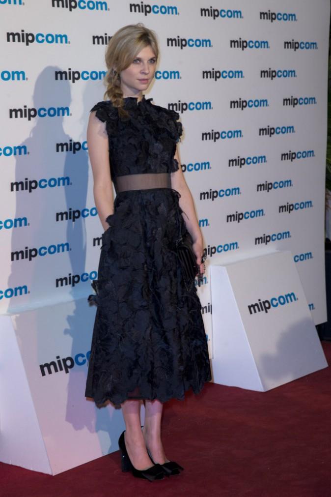 Clémence Poésy lors du MIPCOM TV and entertainment Market à Cannes, le 7 octobre 2013.