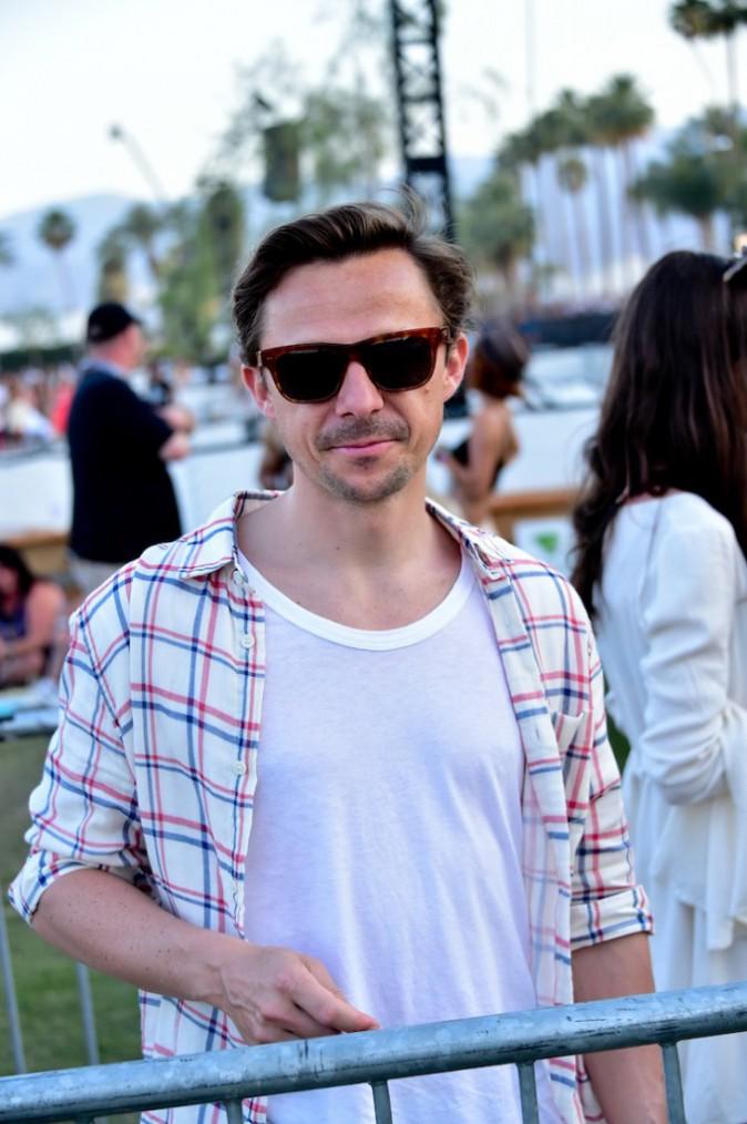 Martin Solveig croisé à la sortie de la tente VIP - Coachella Jour 3