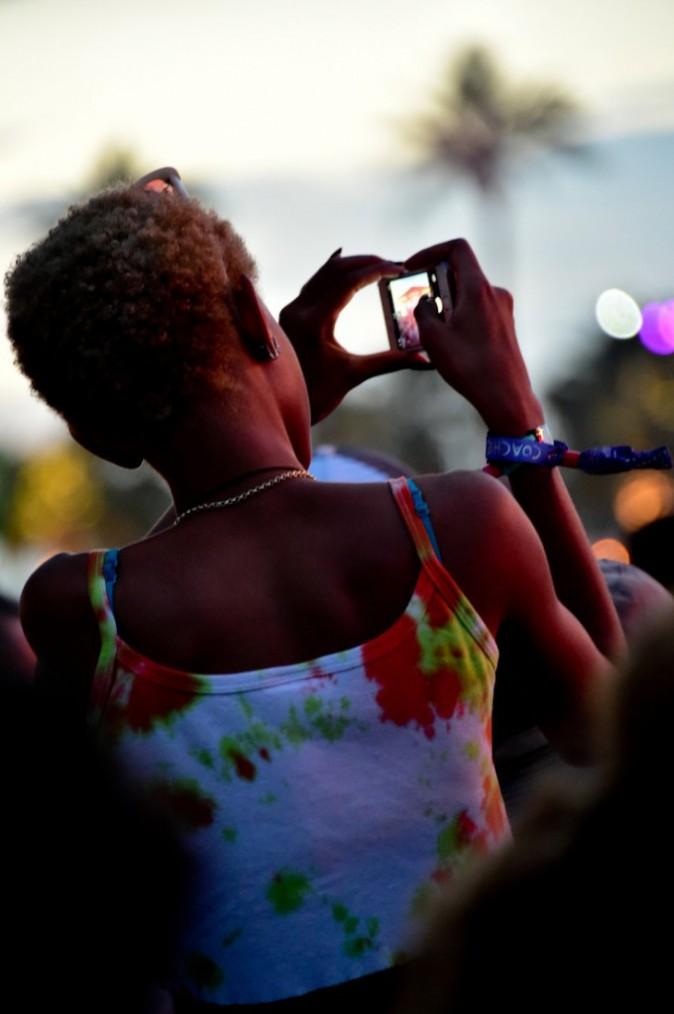 Willow Smith en mode groupie - Coachella Jour 1