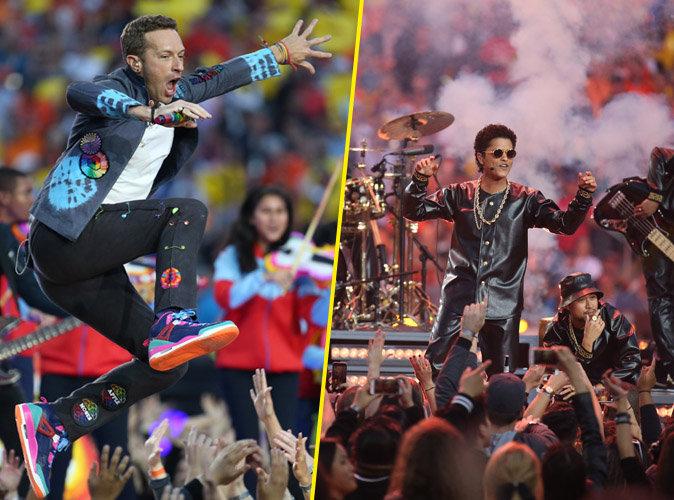 Coldplay et Bruno Mars