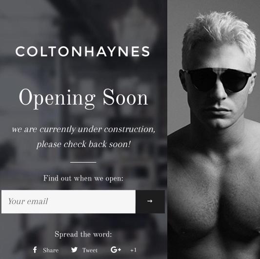 Photos : Colton Haynes fait le buzz grâce à son tout nouveau projet !