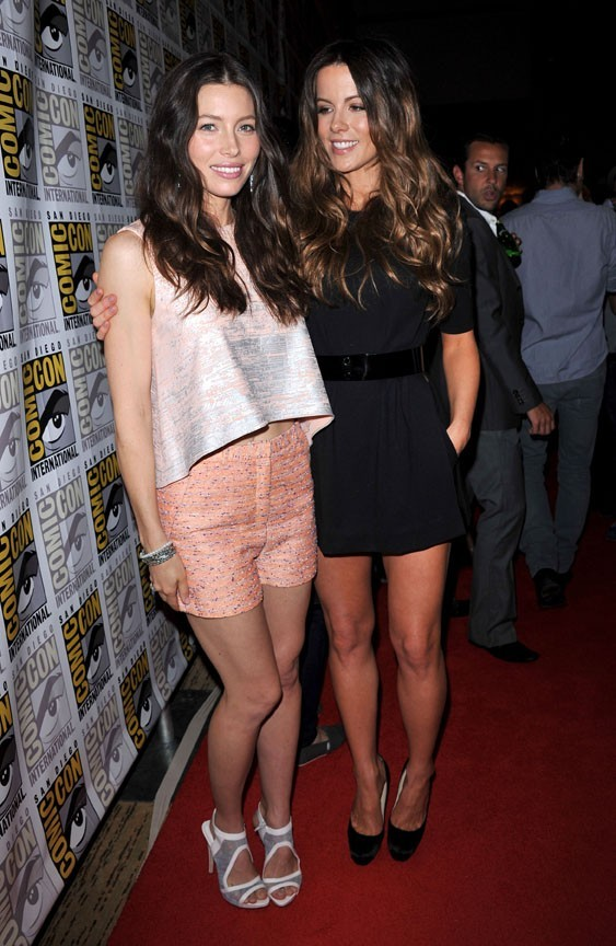 Jessica Biel et Kate Beckinsale, on pourrait les prendre pour des soeurs !
