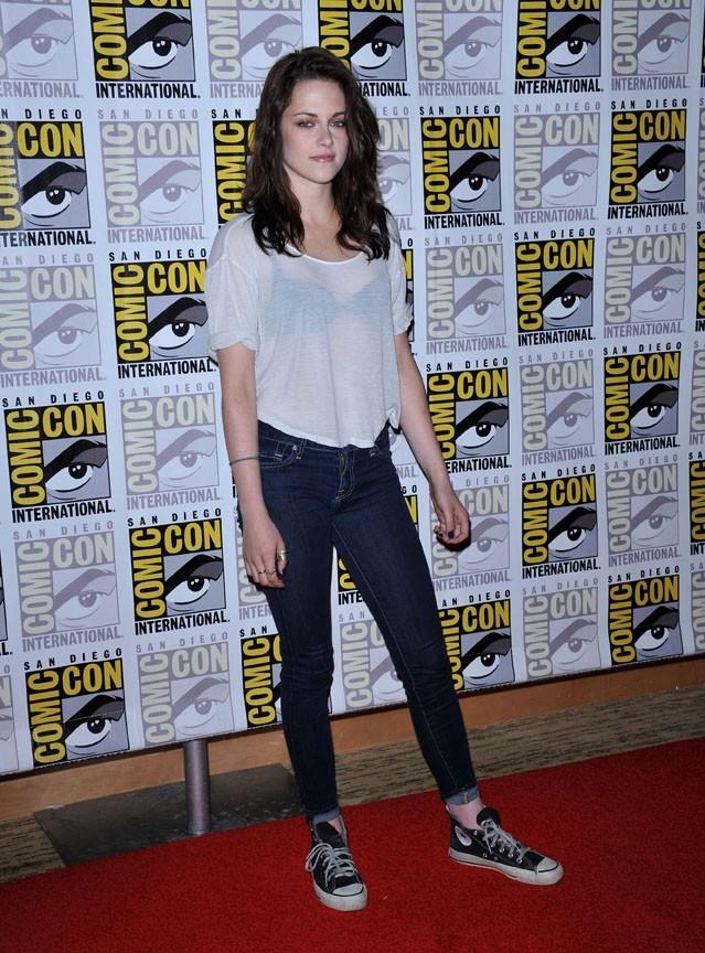 Kristen Stewart en version décontractée au Comic Con de San Diego !