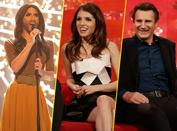 Conchita Wurst, Anna Kendrick, Liam Neeson : tous ensemble pour fêter le Nouvel an !