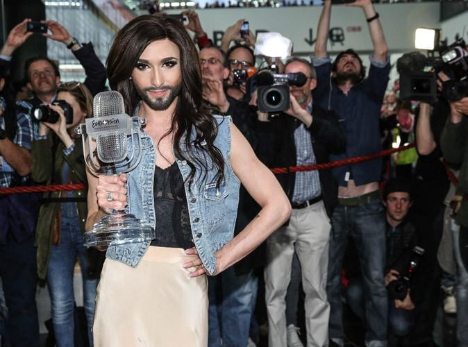 Conchita Wurst : retour triomphant en Autriche pour la grande gagnante de l'Eurovision !