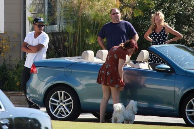 Isabella et Connor à Los Angeles le 7 août 2012