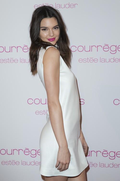 Kendall Jenner à la soirée Courrèges et Esthée Lauder à Paris le 7 mars 2015 !