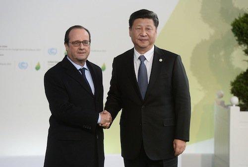 François Hollande et Xi Jinping, Chine
