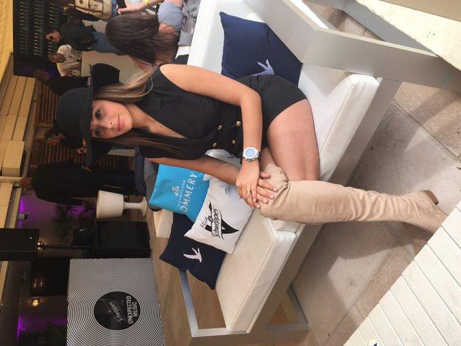 Photos : Coralie (Les Anges 8) s'éclate à Cannes !
