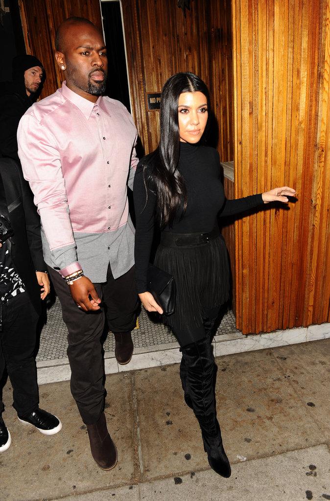Corey Gamble et Kourtney Kardashian