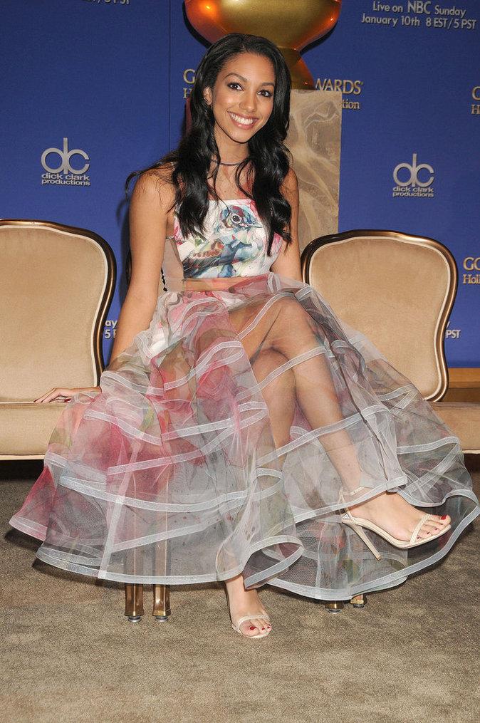Photos : Corinne Foxx : la fille de Jamie foxx radieuse au Golden Globes