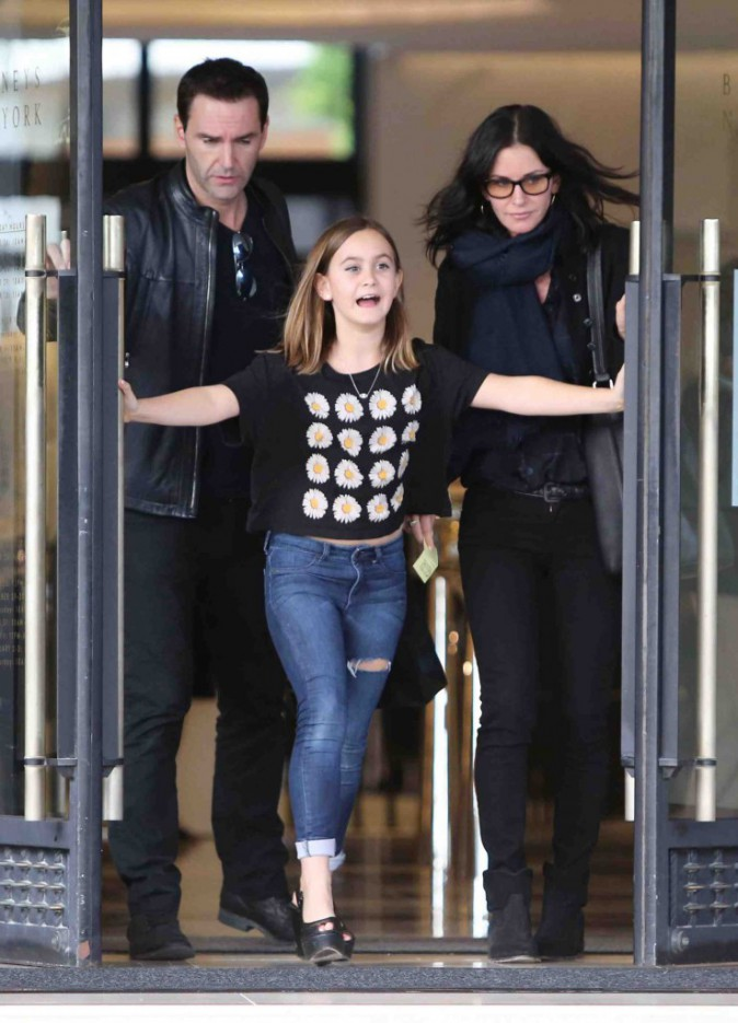 Courteney Cox : talons, maquillage, vêtement... sa fille a déjà tout d'une grande !