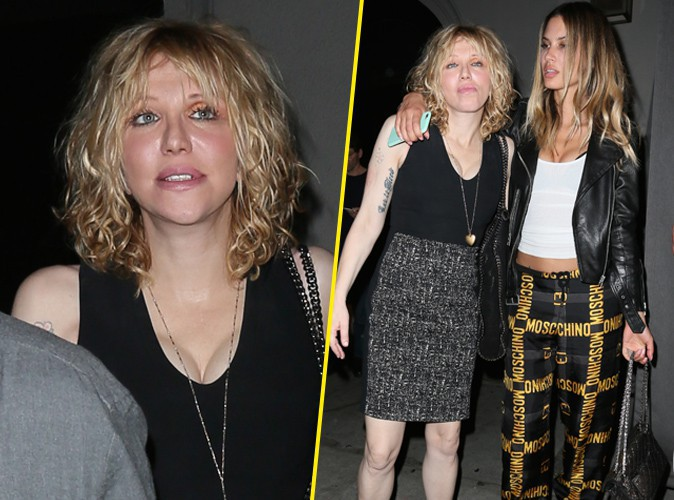 Courtney Love le 24 août 2015