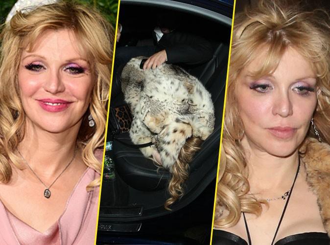 Courtney Love à Londres le 1er décembre 2014