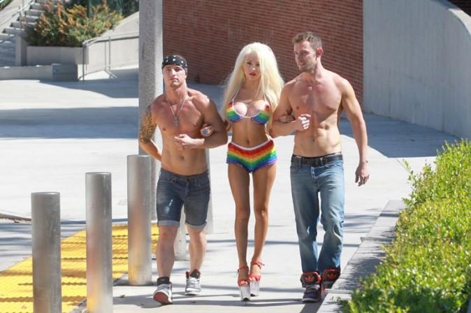 Courtney Stodden à West Hollywood le 27 juin 2013