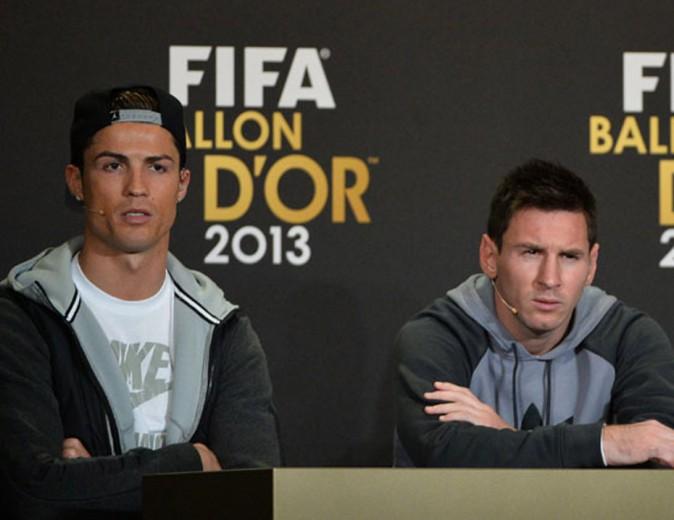 Il entre en concurrence avec Lionel Messi, son meilleur ennemi