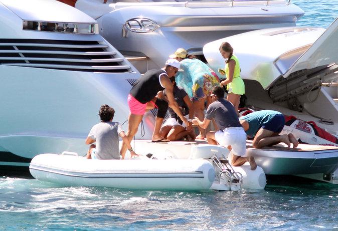 Et encore plus à bord d'un somptueux yacht