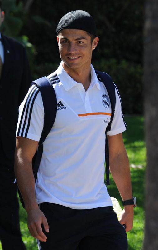 Cristiano Ronaldo se balade à Los Angeles, avec ses nouveaux achats
