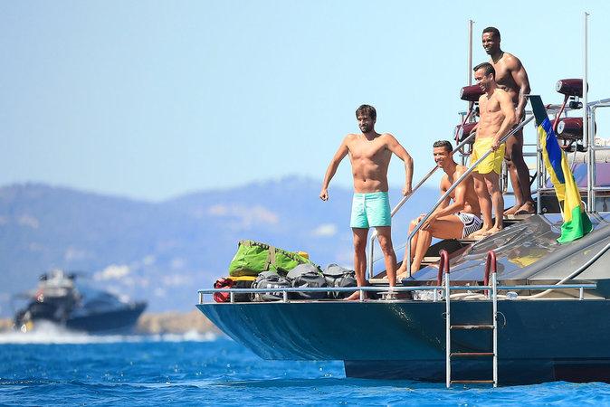 Cristiano Ronaldo à Ibiza le 31 mai 2016