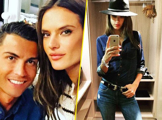 Photos : Cristiano Ronaldo : ultra proche d'Alessandra Ambrosio pour un projet gardé secret !