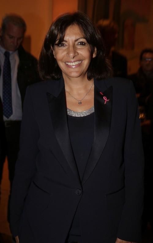 Anne Hidlago à la soirée Octobre rose à Paris, le 7 octobre 2014