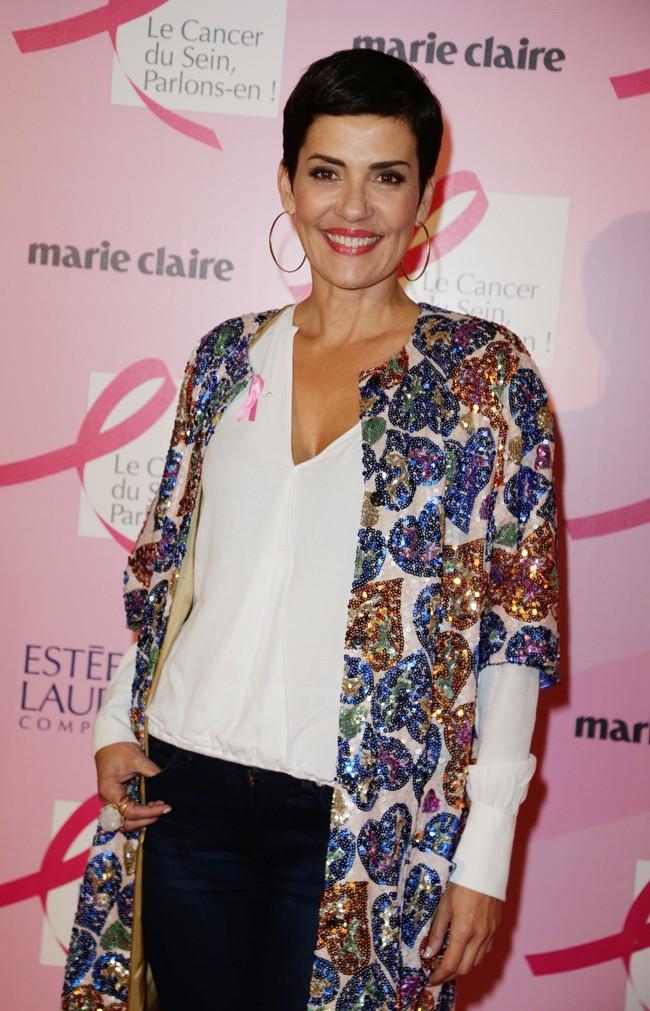 Cristina Cordula à Paris le 28 septembre 2015