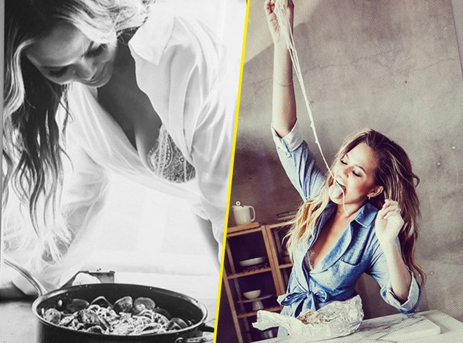 Photos : cuisinez sexy avec Chrissy Teigen !