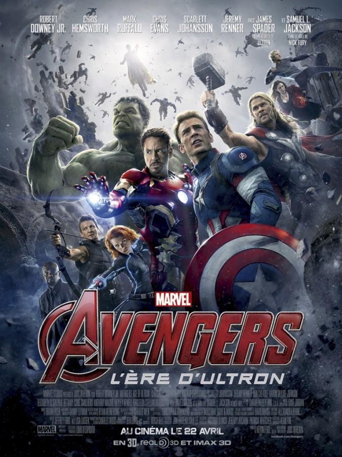 Ciné : Avengers : L'Ère d'Ultron, de Joss Whedon avec Robert Downey Jr, Chris Evans et Scarlett Johansson (2h22)