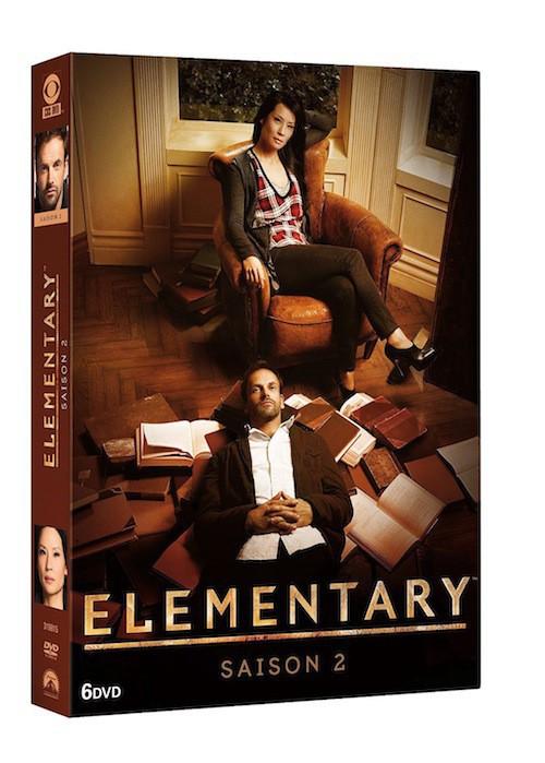 DVD : Elementary, saison 2, Paramount. 39,99 €.