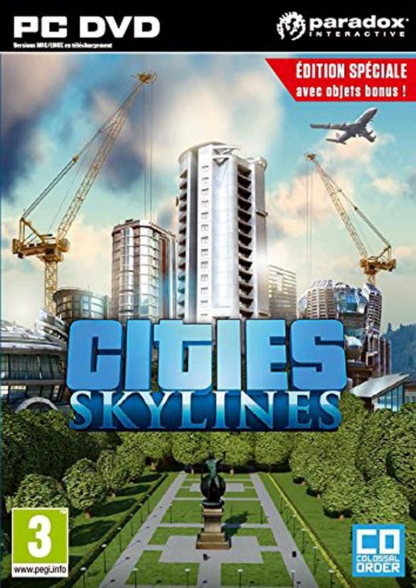 Jeux vidéo : Cities Skylines, PC, Koch Media. 29,99 €.