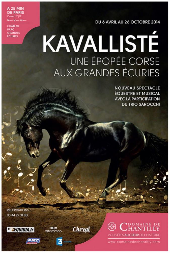 Sorties : Kavallisté, jusqu'au 1er novembre. Dès 18,30 €. Le billet comprend le spectacle et l'entrée au musée du Cheval. domainedechantil...