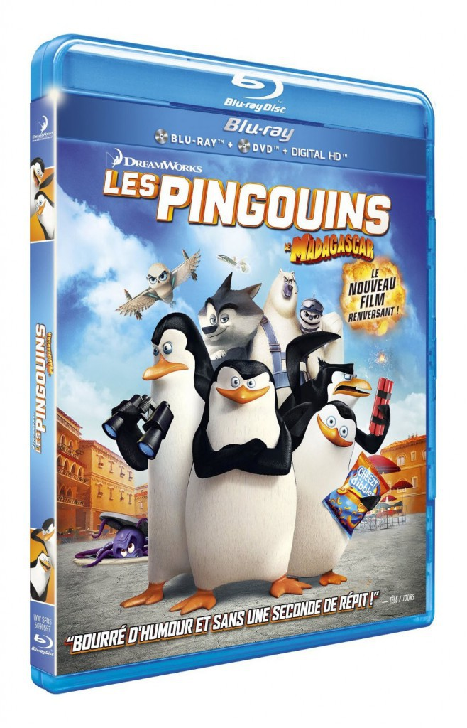 Culture buzz : DVD : Les Pingouins de Madagascar, Fox, 19,99 € et Blu-ray. 24,99 €.