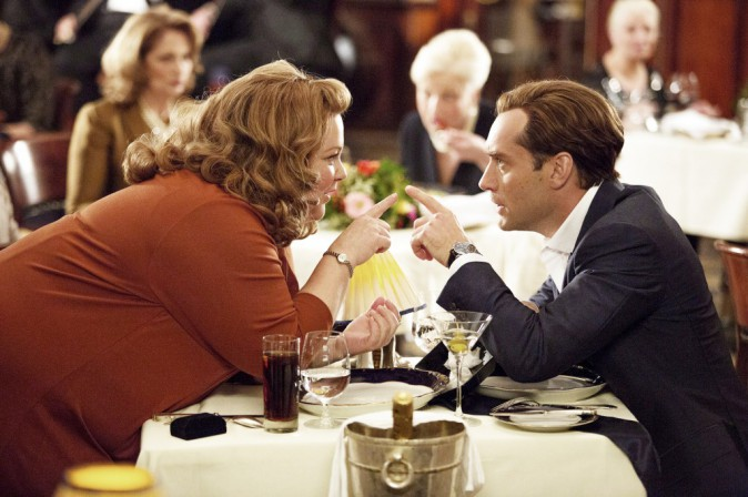 Ciné : Spy, dîner avec Jude Law !